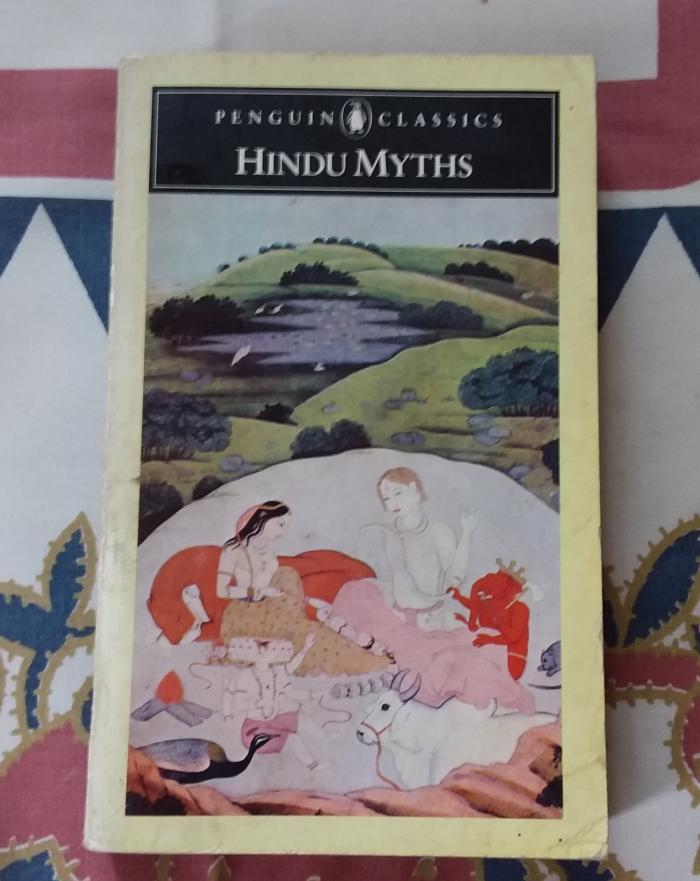 Hindu Myths book