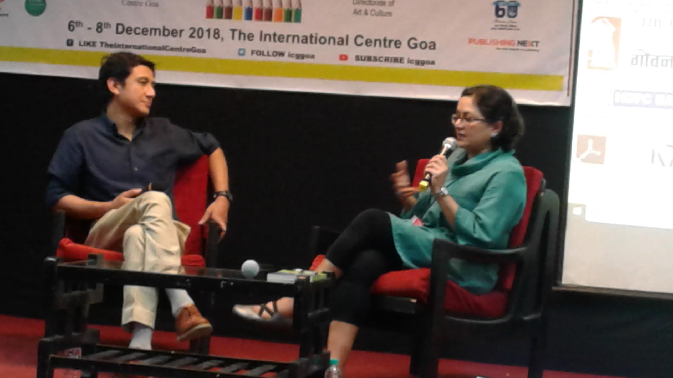 Manjushree Thapa and Anurag Basnet