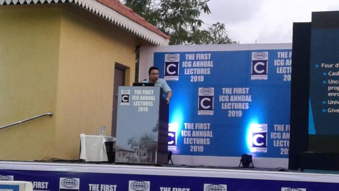 Maitreesh Ghatak at ICG